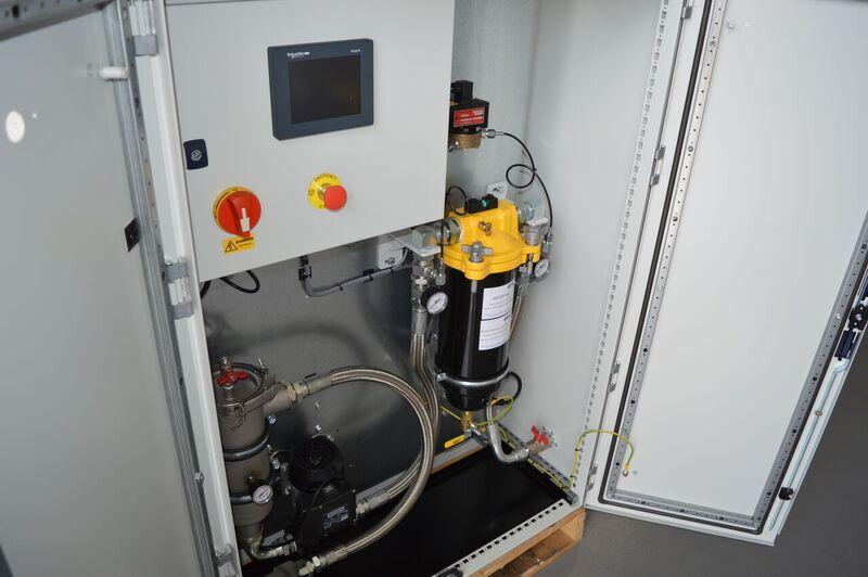 Diesel Service, Programme de traitement du carburant - Etape 3 - Polissage du carburant - Diesel Defence